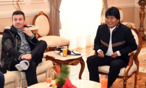 Baldivieso propone amistoso entre Palestina y Bolivia