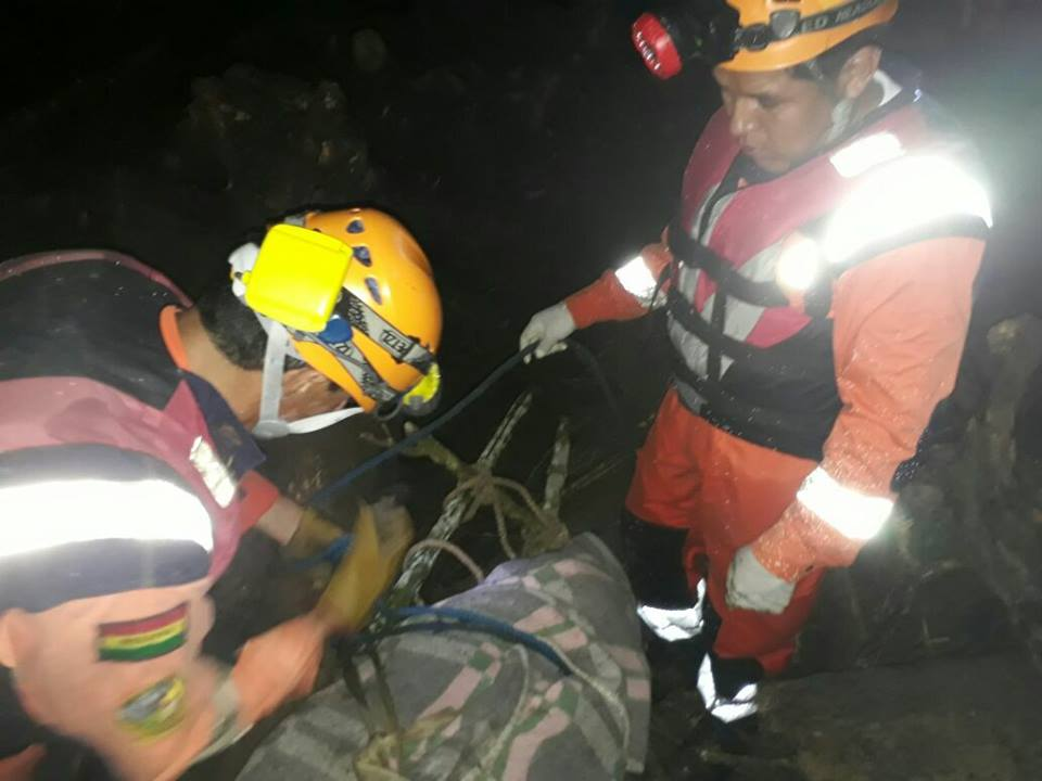 Tres muertos tras crecida de río en Taipiplaya – Caranavi