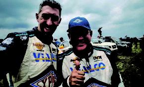 Bolivianos culminan el Rally Dakar