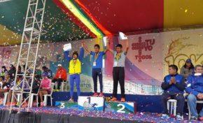 Huiza y Mendoza triunfan por segunda vez en El Alto