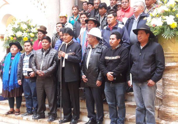 Morales anuncia la socialización del nuevo Código Penal durante un año