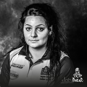 Martínez, una de las catorce guerreras del Dakar 2018