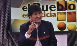 """Morales anuncia la abrogación del Código Penal para evitar la """"desestabilización"""" del país"""
