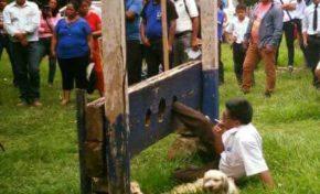 Castigan en el cepo al alcalde de San Buenaventura