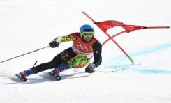 Breitfuss, el mejor latinoamericano en el eslalon de los Juegos Olimpicos de Invierno