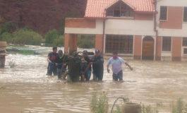 Lluvias y riadas causan estragos en Tupiza y Villamontes