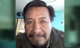 Hallan el cuerpo sin vida de un dirigente de los Ponchos Rojos