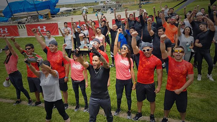 El lago Titicaca fue el escenario del segundo Armour Challenge Bolivia
