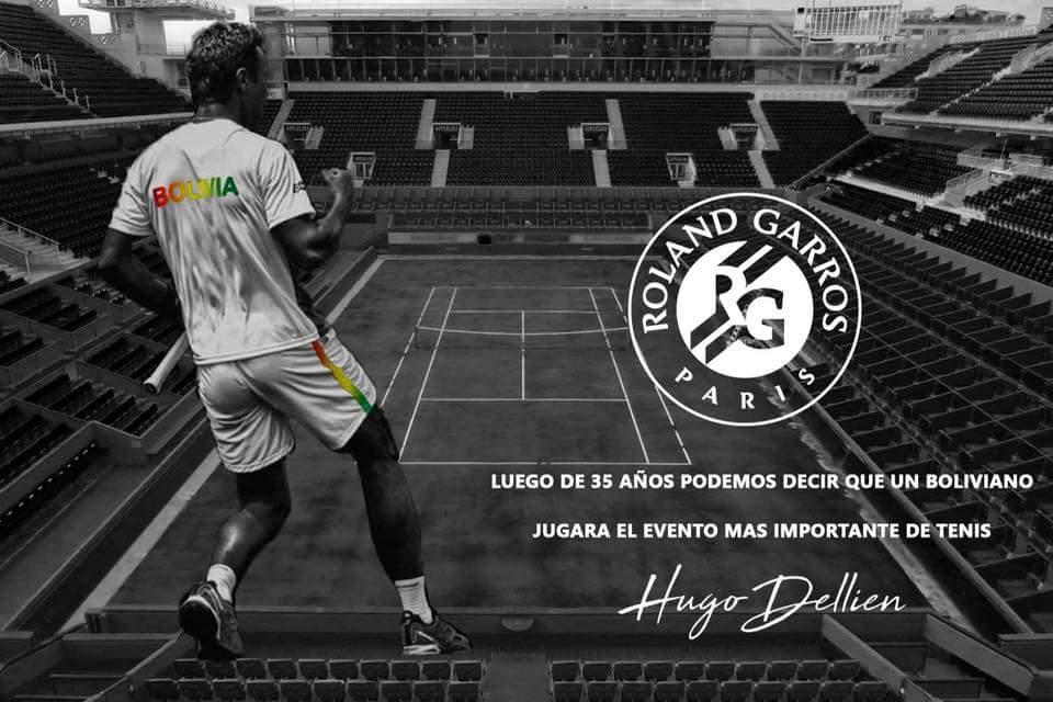 Hugo Dellien hace historia y se clasifica al Roland Garros