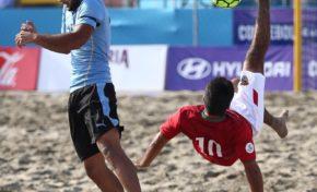 Bolivia sorprende en la Copa América de Fútbol Playa