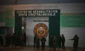 Megaoperativo de control en el penal de Palmasola, Santa Cruz