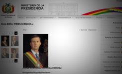 Ministerio de la Presidencia elimina a Carlos de Mesa de la galería de presidentes