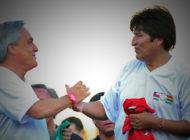 Evo Morales invita a Piñera a jugar fútbol en Bolivia y plantea intercambios