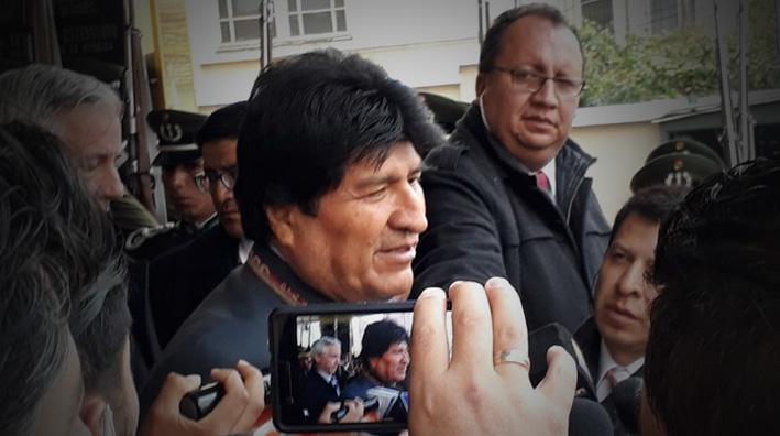 Evo Morales pedirá al legislativo que investigue denuncias de corrupción que involucren a Odebrecht