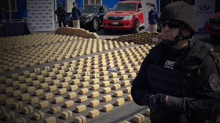"Cae boliviano jefe ""narco"" que metió 1,5 t de droga a Chile"