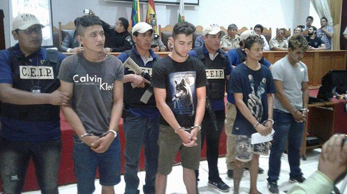 Policía de tres países capturan a banda criminal que asaltó a puesto militar en pando
