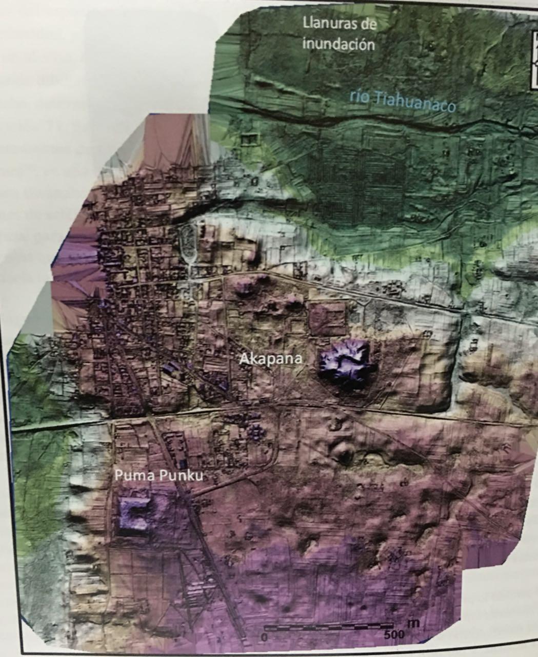 Presentan libro que revela imágenes de ciudad prehispánica enterrada en Tiwanaku