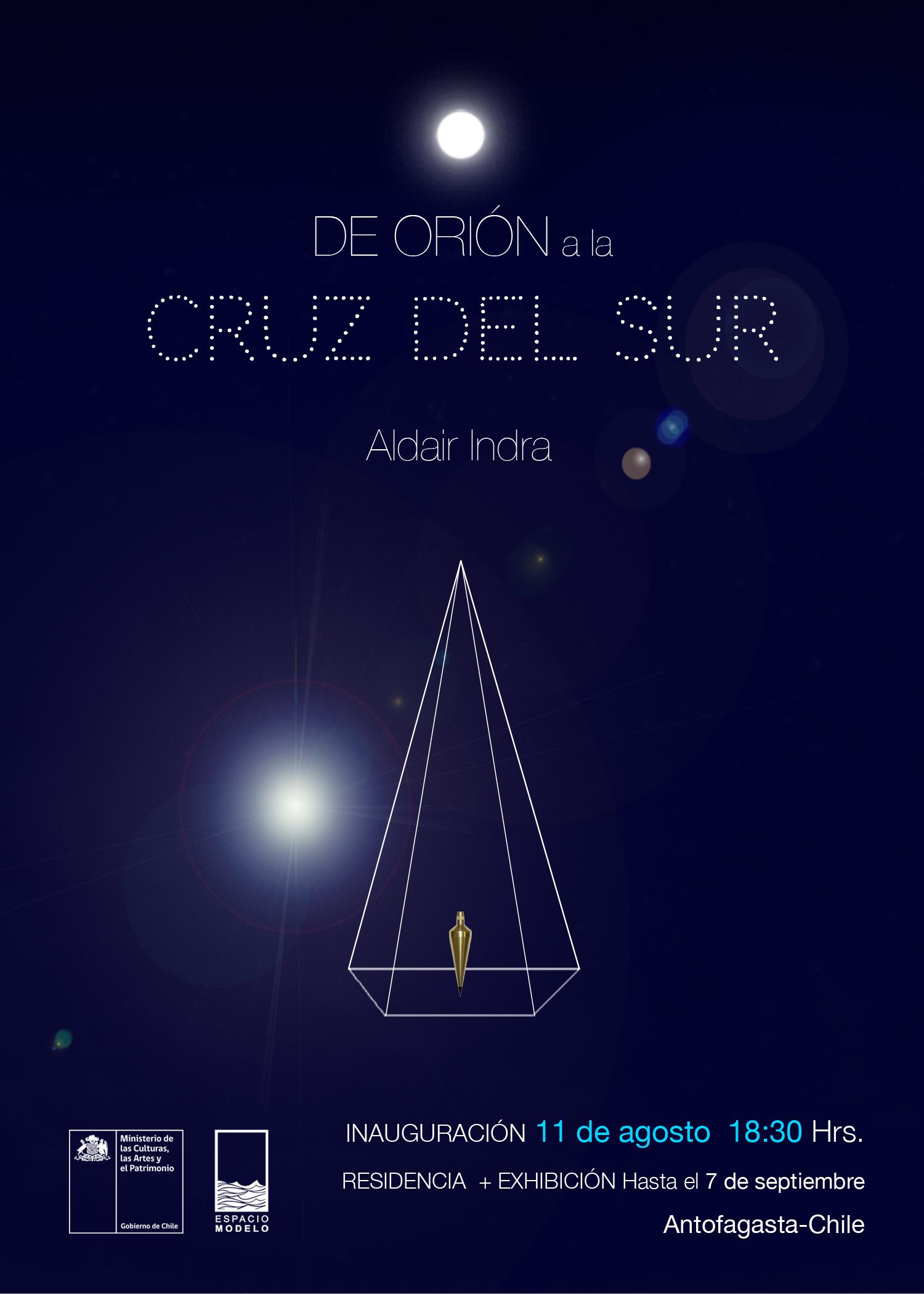 La artista boliviana Aldair Indra presenta una exposición en Antofagasta