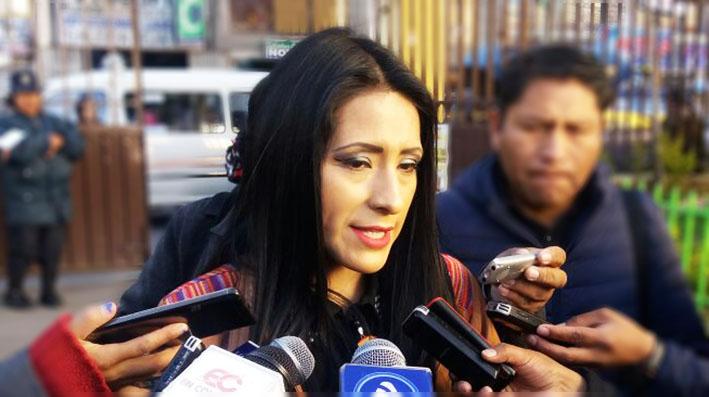 Wilma Alanoca afirma que la última presentación de Kjarkas se pagó con aportes