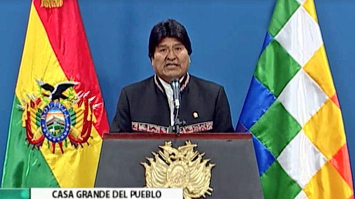 Evo Morales decide aplicar amnistía judicial a Carlos Mesa y Tuto Quiroga