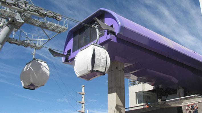 Línea morada de Mi Teleférico afectará cuatro sindicatos de transporte interciudad