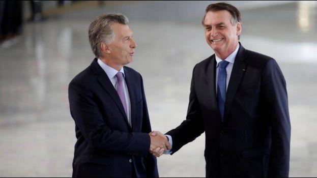 Bolsonaro y Macri condenan la 'dictadura' de Venezuela y hablan de negociaciones con la UE