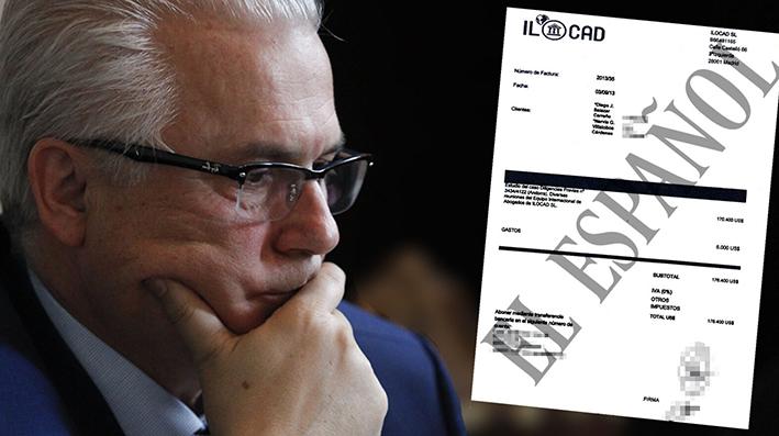 Garzón cobró 176.400 dólares por asesorar a dos venezolanos acusados de expoliar 2.000 millones