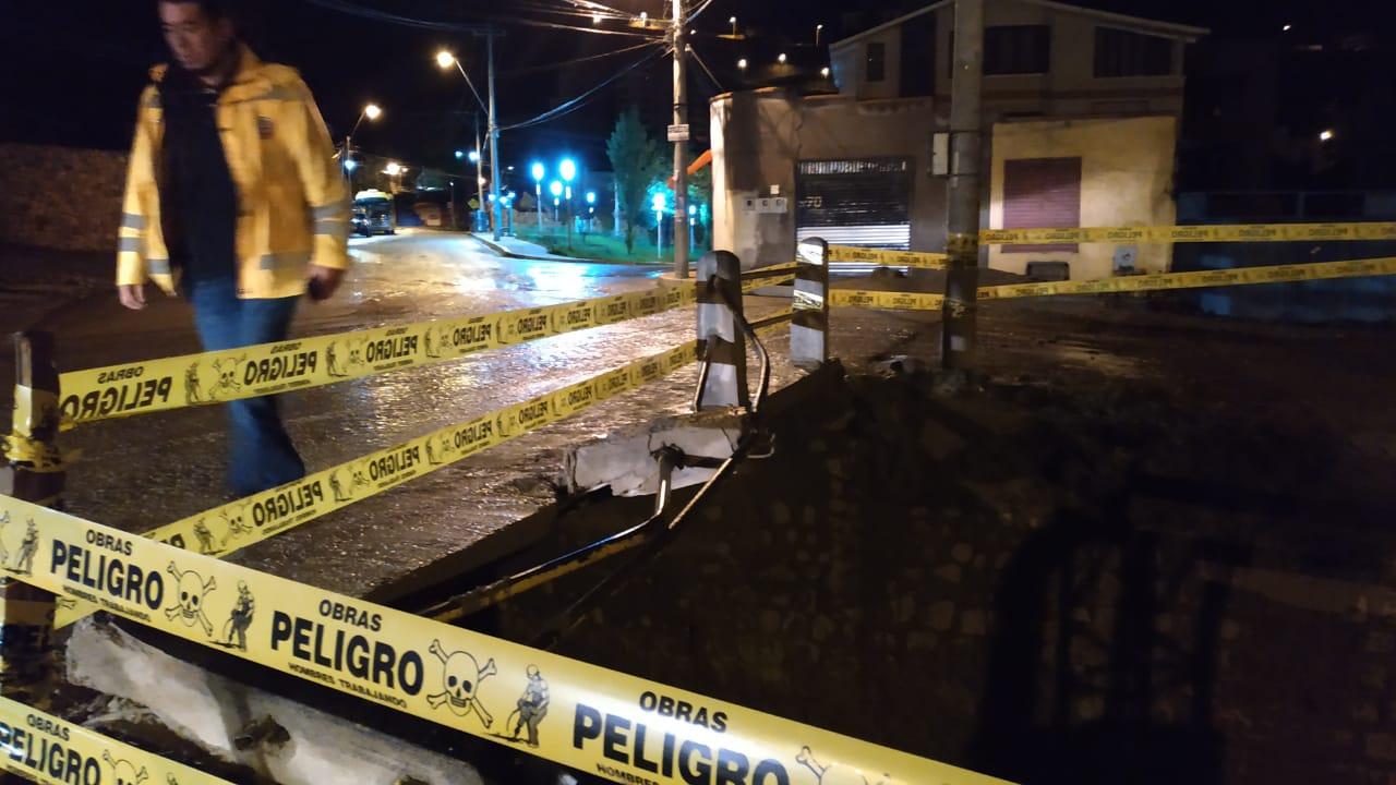 Una mujer muere y dos personas resultan heridas tras ser arrastradas por un río en La Paz