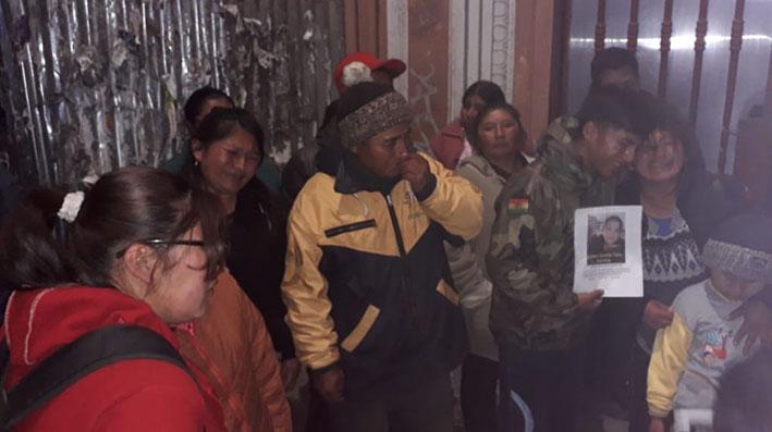 Suspenderán los trabajos de rescate en el sector del deslizamiento en Caranavi