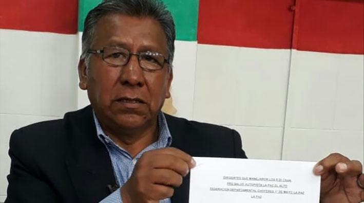 Exdirigentes de choferes deberán responder por 15 millones de bolivianos trasferidos por Vías Bolivia