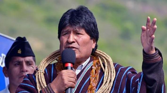 """Evo Morales: Se debe cuidar el medio ambiente, pero hay «derecho de explotar los recursos"""""""