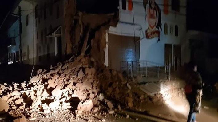 En Perú, un sismo de 8,0 sacude a la ciudad y se siente en países vecinos
