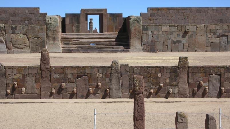 Realizan Taller de Conservación Curativa en Patrimonios Líticos de Tiwanaku con expertos de Grecia