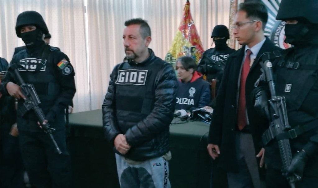 «Narco» italiano buscaba establecer una red delictiva entre Perú, Colombia y Bolivia