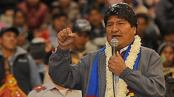 Evo Morales: «Por mí, mañana mismo me iba a casa»