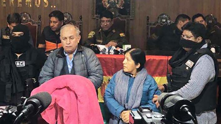 Detienen a vocales del Tribunal Supremo Electoral de Bolivia por delitos electorales