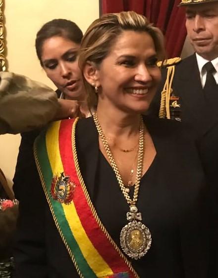 Bolivia tiene nueva presidente