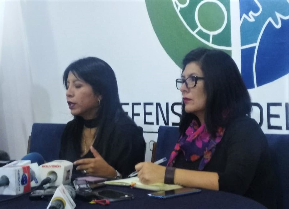 La defensora del Pueblo reporta tres fallecidos en El Alto, pide que cese la persecución a dirigentes