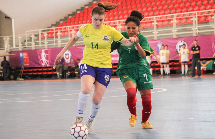 Bolivia queda en el Grupo «A» de la Copa América de futsal femenino