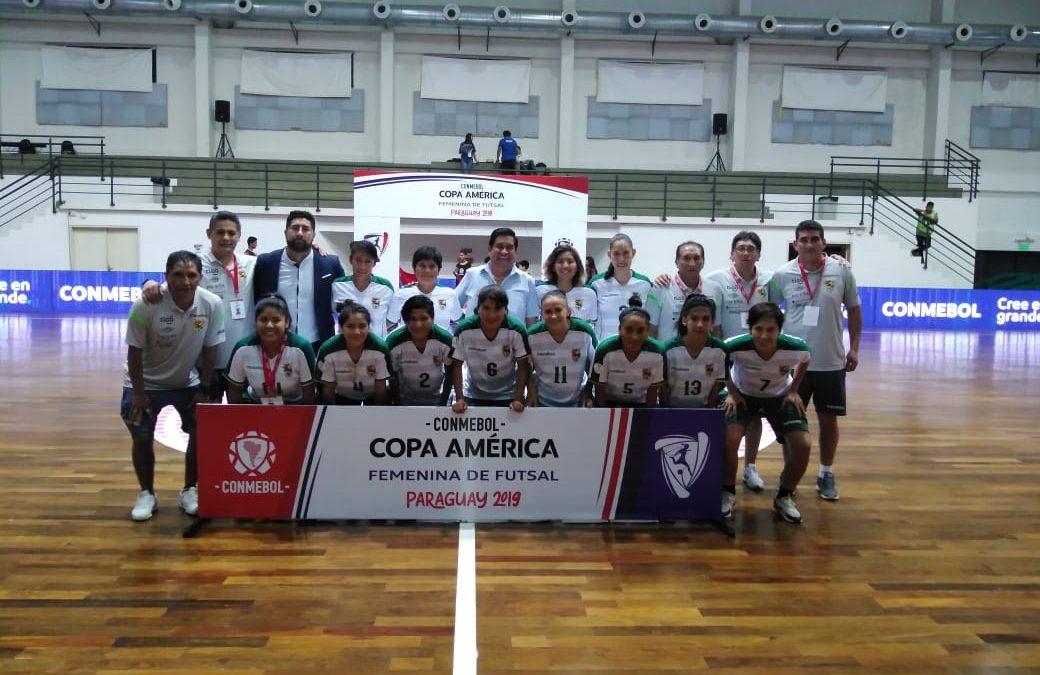 Bolivia suma su segunda victoria en la Copa América de futsal
