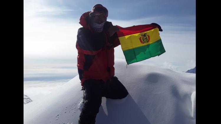 Bernardo Guarachi: «Conquistar la Antártida es como estar en otro planeta»