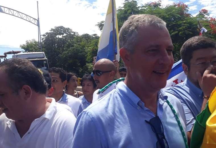 Branko Marinkovic regresa a Bolivia y anuncia reuniones con fuerzas políticas