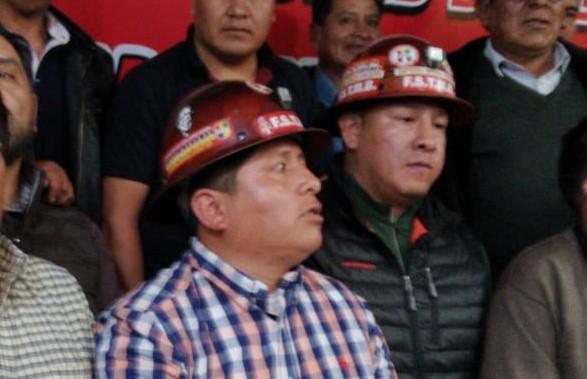 La COB decide postular a un dirigente minero para el binomio del MAS