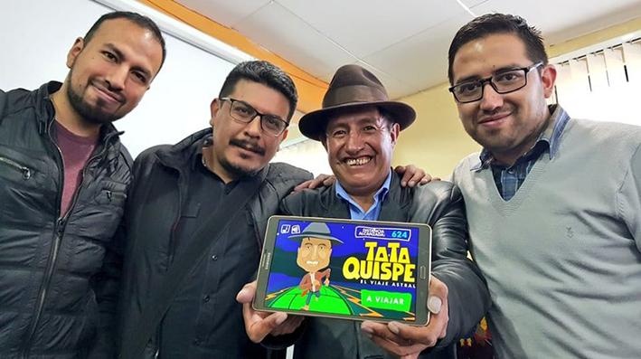 El juego de Tata Quispe llega a los primeros lugares de popularidad en playstore