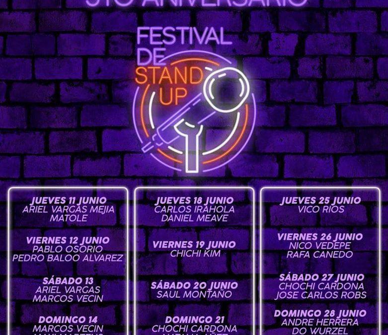 Snack Tía Ñola se reinventa y celebra su quinto aniversario con Stand Up on line