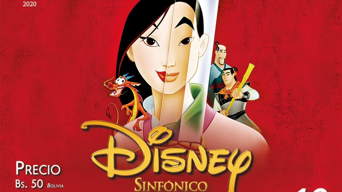 La Orquesta Sinfónica se une a los conciertos virtuales con «Disney sinfónico»