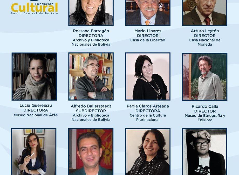 Conoce a los nuevos directores de los museos de la Fundación Cultural del BCB