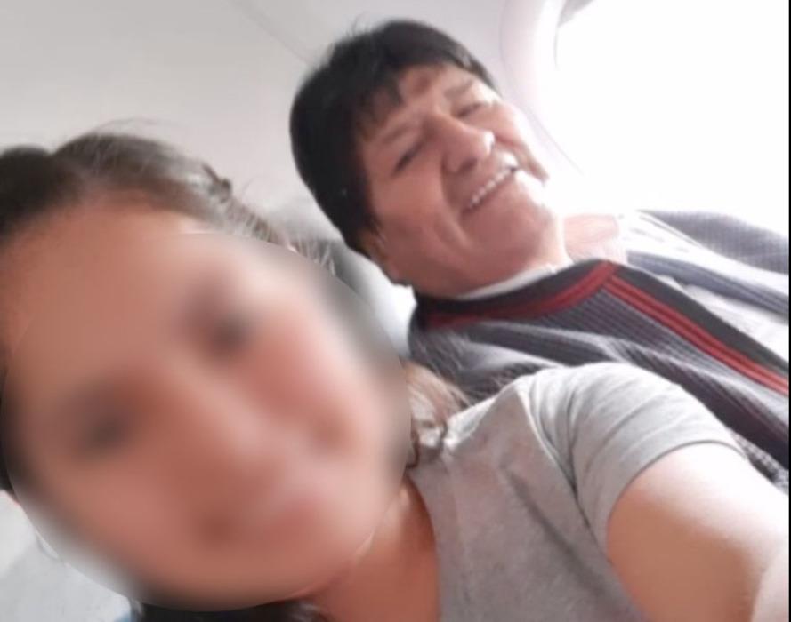 Evo Morales y la joven N. M.